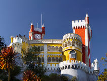 Pena Palace, Sintra, Portugal Stock Images