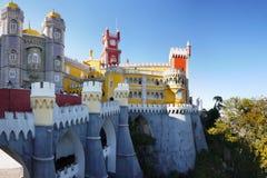 Pena Palace, Sintra, Portugal Stock Photos