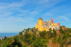Pena Palace in Sintra, Portugal. Stock Images