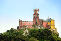Pena Palace Sintra Portugal Royalty Free Stock Images
