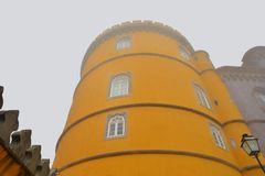 Pena Palace , Sintra Stock Images
