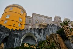 Pena Palace , Sintra Stock Photography