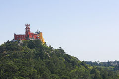 Pena Palace in Sintra, Portugal Stock Images