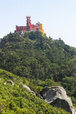 Pena Palace in Sintra, Portugal Stock Photos