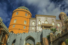 Pena, the palace in Sintra, Portugal Stock Photography