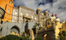 Pena - the palace in Sintra, Portugal Royalty Free Stock Photo