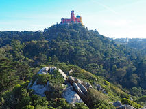 Pena Palace, Sintra, Portugal Stock Photography