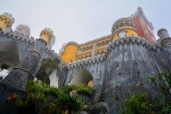 Pena Palace , Sintra Royalty Free Stock Photos