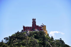 The Pena Palace in Sintra Stock Images