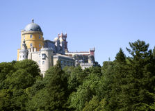 Pena Palast in Sintra, Portugal Lizenzfreies Stockbild