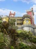 Pena Portugalia obywatela pałac. Zdjęcia Royalty Free