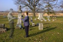 Pena, pérdida, muerte, amor, vida, religión Fotos de archivo