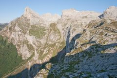 Pena Remona - Picos de Europa Stock Photos