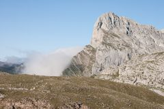 Pena Remona - Picos de Europa Stock Photo