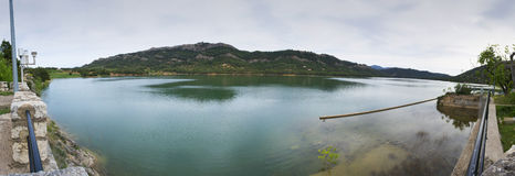 Pena Reservoir. Stock Photography