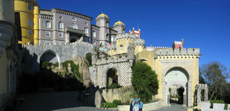 Pena Royal Palace Royalty Free Stock Image
