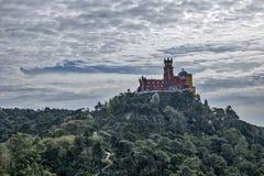 Pena-Schloss in Sintra Lizenzfreie Stockfotos