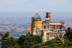 Pena in Sintra Stock Images