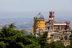 Pena in Sintra Royalty Free Stock Image