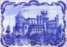 Pena slott Sintra, Portugal Royaltyfri Fotografi