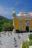 Pena slottPlaza, Sintra, Portugal Arkivfoto