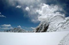 Penacho de la nube Foto de archivo libre de regalías