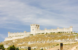 Penafiel Castle. Valladolid Province, Castile and Leon, Spain Royalty Free Stock Image