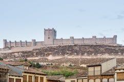 Penafiel slott, Valladolid Royaltyfri Foto