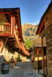 Penalba de Santiago, a typical village in the valley of silence Stock Photo