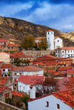 Penalen - town in province of Guadalajara Stock Photography