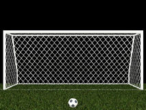 Penalty area Stock Photography