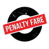 Penalty Fare rubber stamp. Grunge design with dust scratches. Effects can be easily removed for a clean, crisp look. Color is easily changed Royalty Free Stock Image