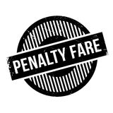 Penalty Fare rubber stamp. Grunge design with dust scratches. Effects can be easily removed for a clean, crisp look. Color is easily changed Royalty Free Stock Photo