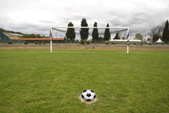 Penalty kick Royalty Free Stock Photo