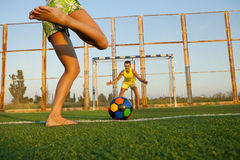 Penalty shootout Royalty Free Stock Images