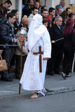 Penance. Good Friday procession, Malta. Royalty Free Stock Photos