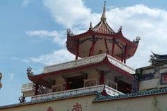 Penang, Μαλαισία: Ναός Si Lok Kek Στοκ Φωτογραφία