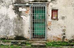 Penang arvdörr Fotografering för Bildbyråer