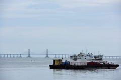 Penang-Brücke, Malaysia Lizenzfreie Stockfotografie