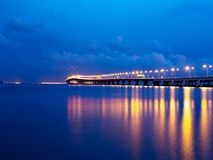 2. Penang-Brücke in Penang Malaysia Stockfotografie
