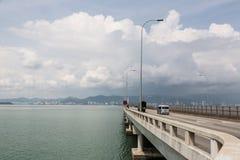 Penang bridge Stock Photography