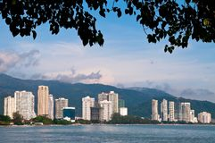 Penang - The City. The City in Langkawi, Malasia royalty free stock photography