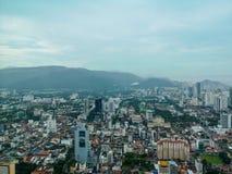 Penang cityscape royaltyfria bilder