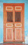 Penang - The Door. The traditional door in Penang Stock Photo