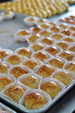 Penang famous local delight Green Bean Biscuit Royalty Free Stock Images