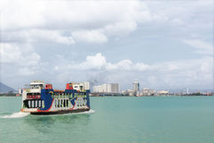 A Penang ferry royalty free stock photo