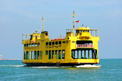 Penang Ferry Service. Is the oldest ferry service in Malaysia Stock Photography