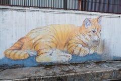 Penang-Graffiti Lizenzfreie Stockfotos