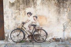 Penang-Graffiti Stockfotografie