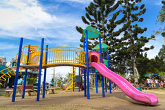 Penang hill children playground Stock Images